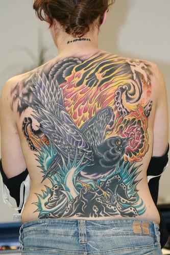 snowlionskull. starfish. tattoo