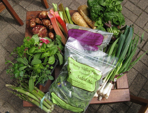 What's in CSA box #2