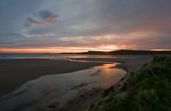 Machir Bay (Ali's view) Tags: sunset seascape colour reflection beach bay scotland stream dusk islay bliss kilchoman