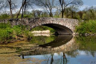 Lake Wingra bridge, Madison WI