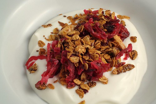 Cranberry and Hibiscus Granola