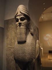 Lamassu (Art History in a Hurry) Tags: mesopotamia lamassu assyrian ancientneareast