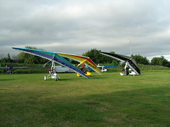 Microlights ready to fly