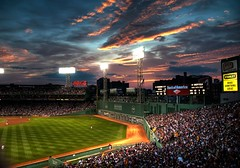 Fenway Park 3 (Werner Kunz) Tags: world city trip travel vacation sky urban usa holiday green boston night clouds america photoshop ma lights us nikon unitedstates audience baseball cloudy stadium massachusetts urlaub north redsox newengland wideangle center american stadt northamerica strike 40 fans fenway amerika pitcher base dri hdr hdri werner reise beantown metropole kunz photomatix vereinigtestaaten nordamerika vereinigtestaatenvonamerika basemen 20fav colorefex nikond90 nikon90 topazadjust werkunz1