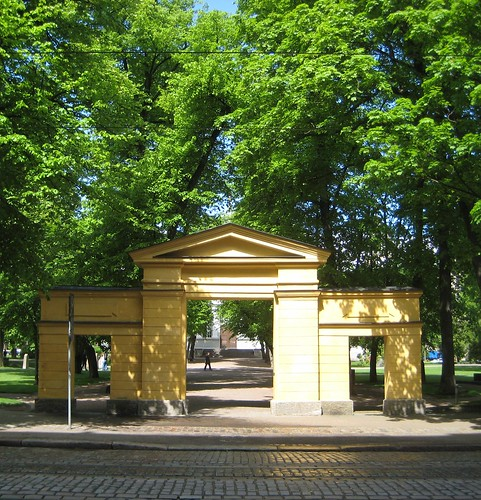 Old Church Park and graveyard in Helsinki by Anna Amnell