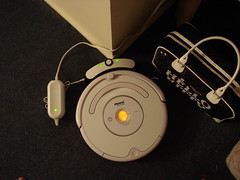 My new Roomba 530, charging up