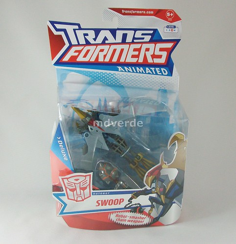 Transformers Swoop Animated Deluxe - caja