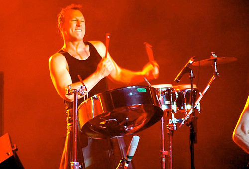 20090609 - Jane's Addiction - Stephen Perkins (playing drums) - 3616094316_c2da501d24_o