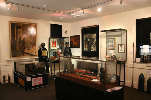 One of the many display rooms