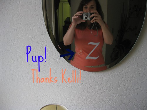Poor Pic Of Pup Shirt from Kelli