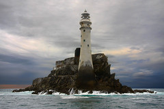 Fastnet #1 (Pockets1) Tags: ireland light sea lighthouse jason canon eos town waves cork flashing 1785mm 2009 westcork schull 2thumbsup fastnetrock 40d fastnetlighthouse pockets1 jasontown