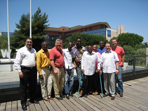 Following a lunch with African bloggers
