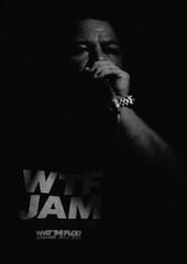 JTS_7531_WTF_Aurelio BW (Thundershead) Tags: barcelona musician music live jazz musica wtf jamboree whatthefuck directo musico directe aureliosantos whatthefuckjamsessions