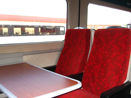 Intercity charter train - refurbished 2009 -  Standard (2nd) class interior