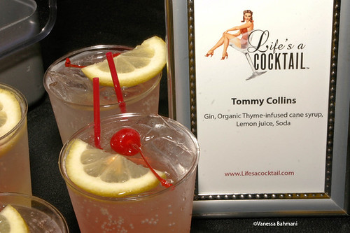 Tommy Awards Signature Cocktail Menu