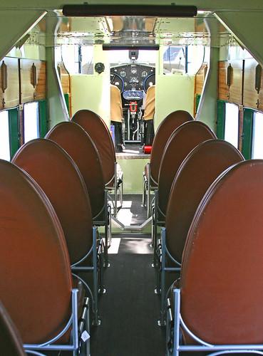 Ford Tri-Motor (NC4807) Cabin, Flight Deck