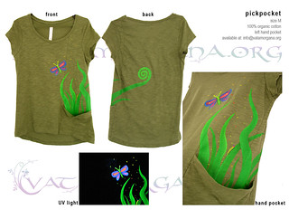 Pickpocket T-shirt for women