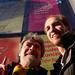 Roger Steffens and Matt at Berklee