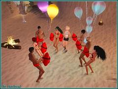 Dernires danses sous surveillance (Tim Deschanel) Tags: life sun tim day magic sl second pearl rez domain deschanel kelty farzam rezday keltyana