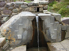 Surprising water engineering at Machu Picchu