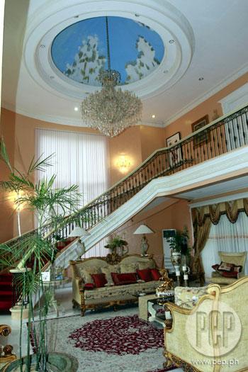 stairs to mansion dark