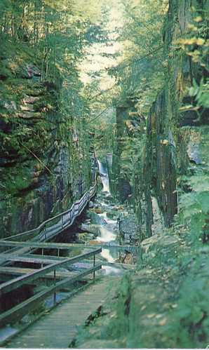 The Flume Gorge, Franconia Notch NH