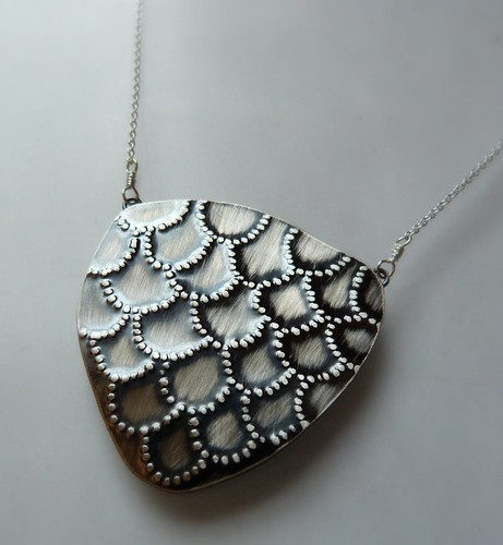 New Scaly Shield Necklace