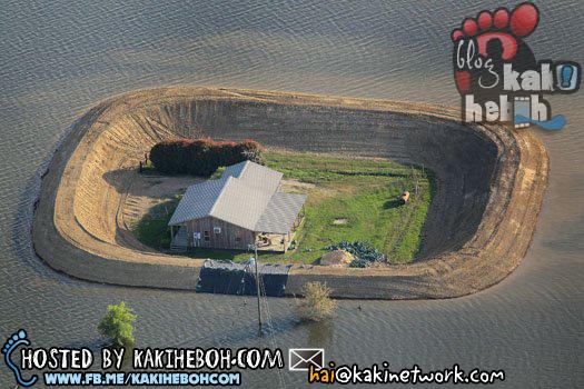 Gambar Rumah Banjir