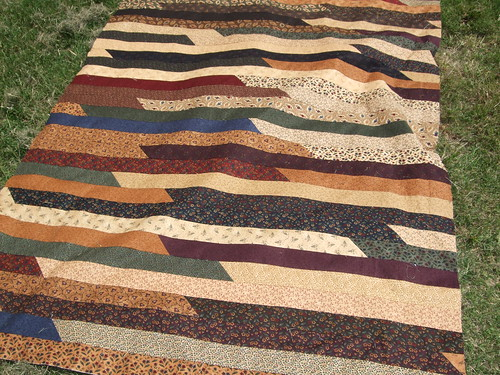 Jelly Roll Quilt 001