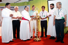 "AISAT Engineering College, Kerala - 08-03-2014 - AISAT Day 2014 - His Grace Most Rev.Dr.Alex Vadakumthala, bishop of kannur diocese Inaugurating the function • <a style=""font-size:0.8em;"" href=""http://www.flickr.com/photos/98005749@N06/13052809334/"" target=""_blank"">View on Flickr</a>"