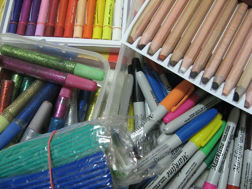 14Feb09 ~ Art Supplies