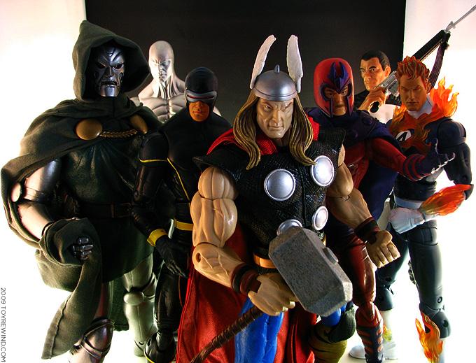 colección de figuras de Marvel Legends