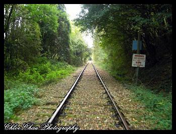 train tracks in france
