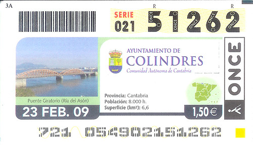 ONCE Colindres Ticket