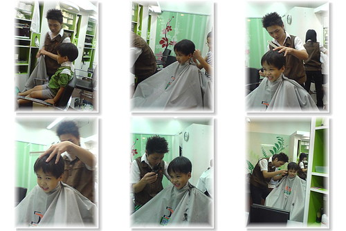 你拍攝的 剪髮記。