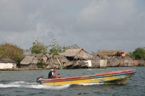Cartí Island, San Blas - Panama.
