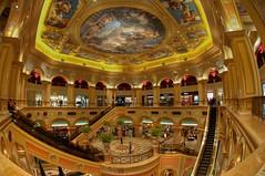 The Venetian Macao Resort Hotel (whc7294) Tags: china casino fisheye venetian macau hdr macao 澳門 taipa cotai photomatix マカオ 魚眼レンズ フィッシュアイ platinumheartaward thevenetianmacaoresorthotel nikond300 威尼斯人度假村酒店 tokinaatx107dx 10~17mmf35~45
