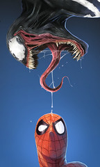 Spiderman e Venon  by Dan LuVisi