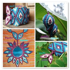 Conjunto de Macrame (pacificdaphne) Tags: handmade bolivia bracelet trinidad mojos macrame makrame sorata tejido hechoamano macramé hiloencerado μακραμέ tijamuchi asnignaciodemojos