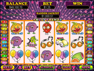 Fruit Frenzy slot game online review