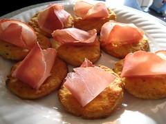 biscotti salati con la lonza
