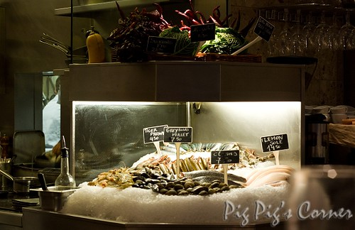 barrafina seafood counter