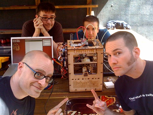 Superstars and The MakerBot