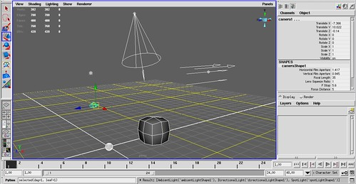 Screenshot_Maya_retrieve_lights_from_selection