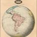 118 Mapa antiguo América del Sur (South America old map)