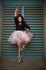 Thania (Light Stalker) Tags: ballet 5d tutu ef2470mmf28lusm chucktaylor levitate thania inexplore 580exii pwii punkballet 43inchshootthroughumbrella