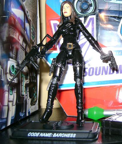 G.I. Joe Movie Baroness Figure From China