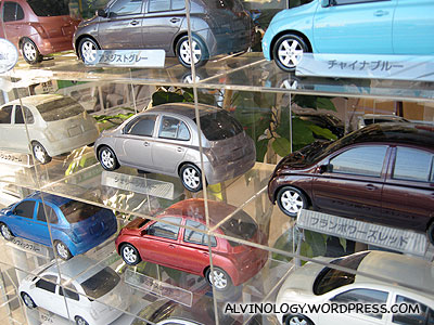 toy car models