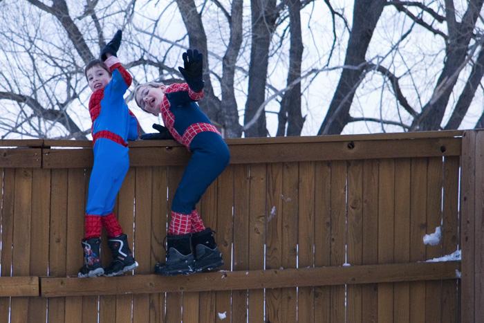 Snow Spidermen