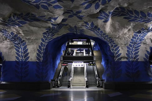 501_subway stockholm